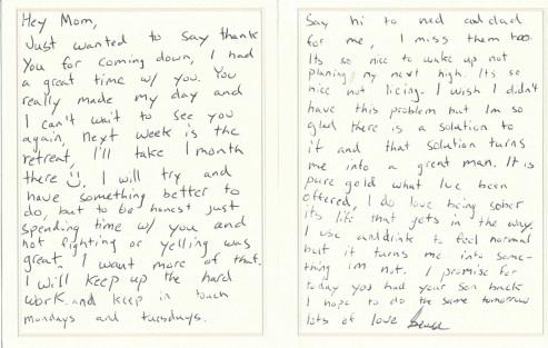 Letter from Hamlin