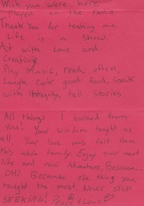 Poem for WBG