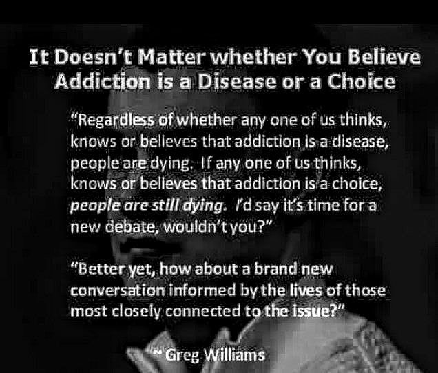 addiction is achoice
