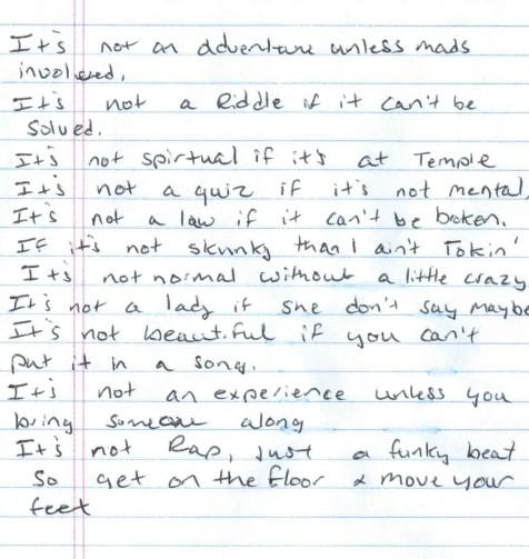adventure city poem